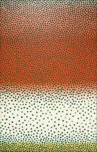 Wojciech Fangor, 'Green Points', 1961