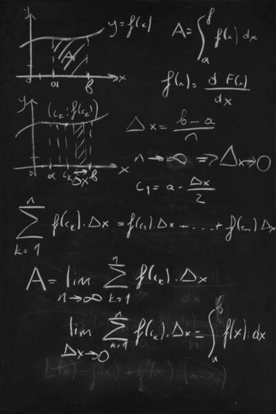 Sergen Şehitoğlu, 'Calculus: Riemann sum & Integral', 2020