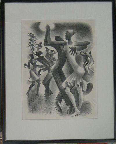 Miguel Covarrubias, 'Lindy Hop', 1936