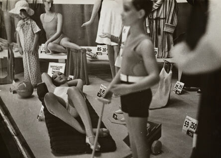 Germaine Krull, 'Mannequins dans une vitrine (Mannequins in a shop window)', 1930
