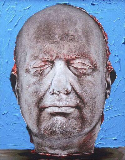 Marc Quinn, 'Self (Hand-Painted) (Blue)', 2006