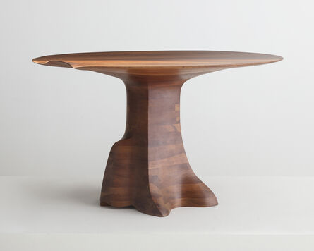 Wendell Castle, 'Dining Table in stack-laminated cherry.', 1978