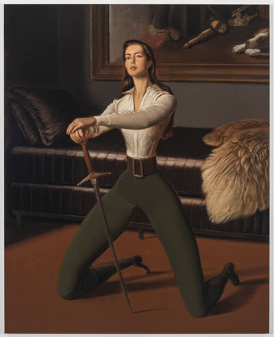 Jansson Stegner, 'Swordswoman', 2018