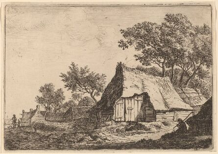 Anthonie Waterloo, 'The Small Hamlet'