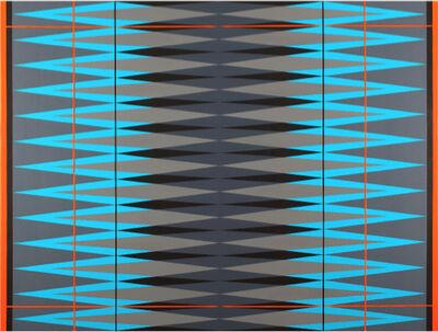 Pablo Griss, 'INTERVENTION Teal.Grey.Orange.Black', 2014