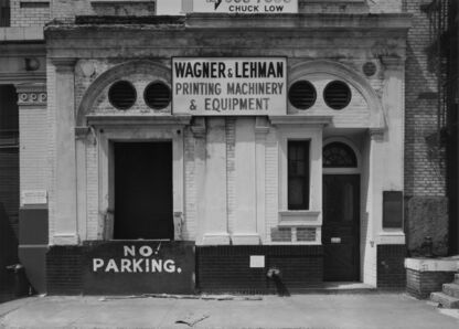 Bevan Davies, 'Hudson Street, New York', 1975