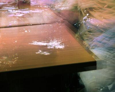Michael Wesely, 'Cafe Steki (21.00 - 22.49 Uhr, 24.6.2014)', 2014
