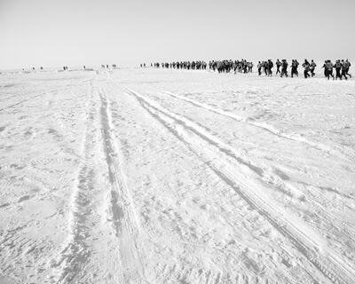 Matthew Webb, 'Running clean water (Clean Water Run, Lake Baikal, Siberia, Russia)', 2012