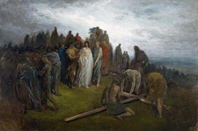Gustave Doré, 'Christ at Calvary', 1883
