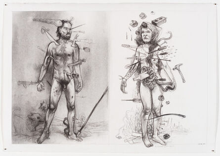 Diane Victor, 'Wound Couple', 2017