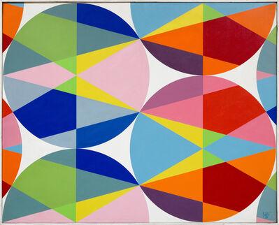 Attila Joláthy, 'Les cercles triangulaire', 1966