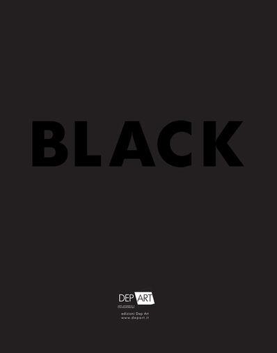 Omar Galliani, 'BLACK exhibition', 2014