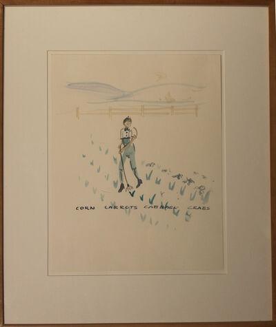 William Wegman, 'Corn Farmer', 1982
