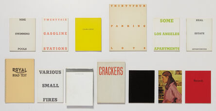 Ed Ruscha, 'A collection of thirteen artist's books', 1964-1978