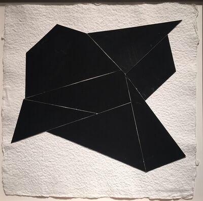 Kenneth L. Greenleaf, 'Black Collage 9', 2014