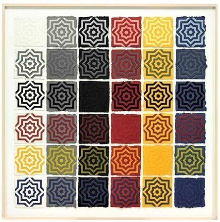 Sol LeWitt, 'Eight Pointed Stars', 1996