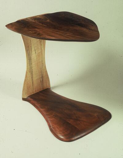 Margery Goldberg, 'Walnut & Aspen End Table'