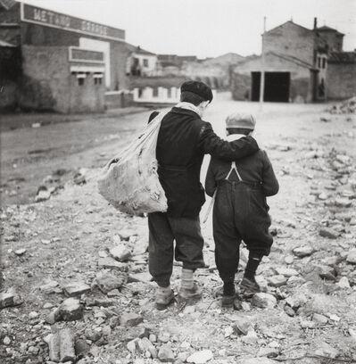 Enrico Pasquali, 'Children, outskirts of Comacchio', 1955