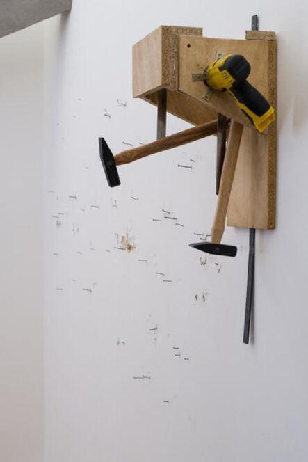 Adrien Tirtiaux, 'Two Nails (Hommage à Lagaffe)', 2017