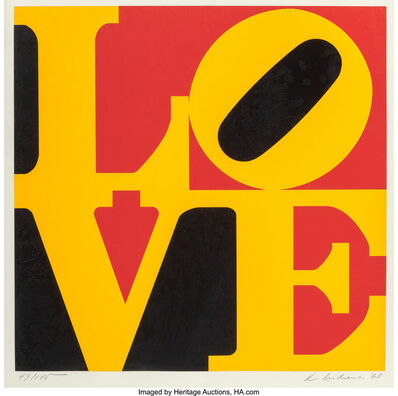 Robert Indiana, 'German Love', 1968