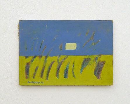 Santi Alleruzzo, 'Paesaggio Calabrese', 1976