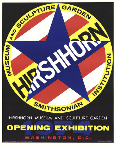 Robert Indiana, 'Hirshhorn', 1974