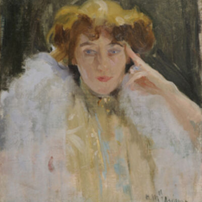 Laureano Barrau, 'Mademoiselle Adrienne', ca. 1890