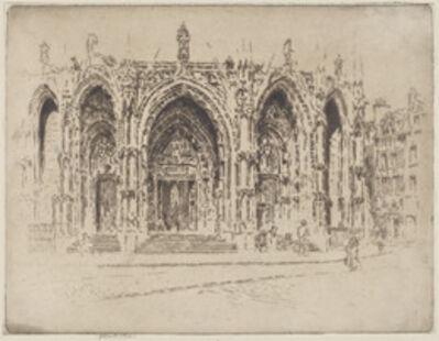 Joseph Pennell, 'Porch of San Maclou, Rouen', 1907