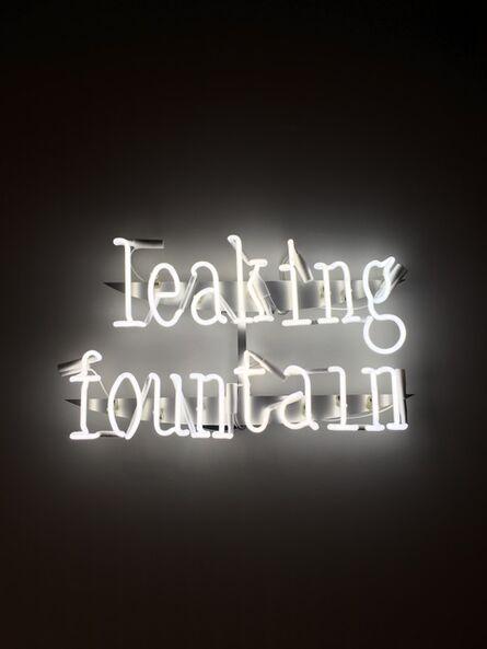 FOS, ''Leaking Fountain' Neon Wall Lamp', 2018