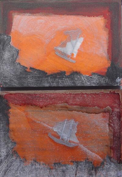 Anna Miquel, 'Barco de vela y luz de atardecer ', ca. 2009