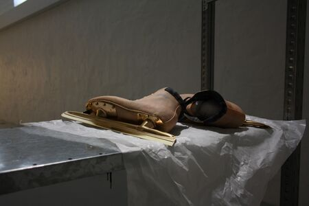 Takahiro Kudo, 'Untitled (Ice skating shoes)', 2013