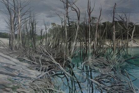 Nicholas Blowers, 'Savage Pond III Study', 2018