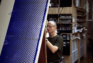 Thomas Hoepker, 'Roy Lichtenstein in his Washington Street studio', 1986