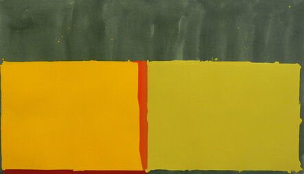John Hoyland, 'Yellows', 1969