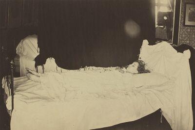 Julia Margaret Cameron, 'Deathbed Study of Adeline Grace Clogstoun', 1872