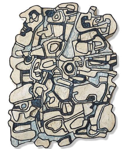 Jean Dubuffet, 'Blue element V', 1967