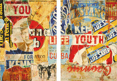"""Jens Lorenzen, '""""You"""" (left) and """"Youth""""(right)', 2017"""