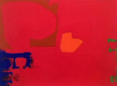 Patrick Heron, 'Ultramarine, Sienna, Orange and Emerald in Cadmium', 1970