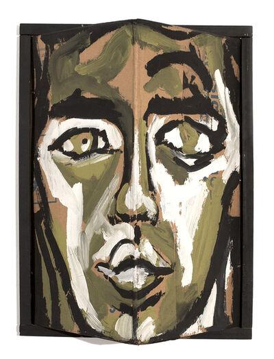 Luis Frangella, 'David Wojnarowicz (Triangle Head).', 1984
