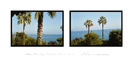 Eve Sonneman, 'Eden Roc, Cap d'Antibes, Vue de Cannes', 2012