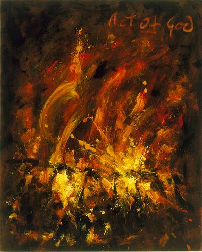 John Keane, 'Untitled (Act of God)', 1994