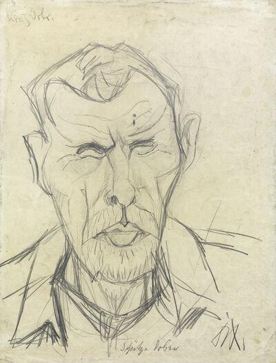Otto Dix, 'Schutze Dober', 1916
