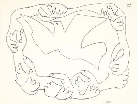 Pablo Picasso, 'Les mains liées IV', 1952