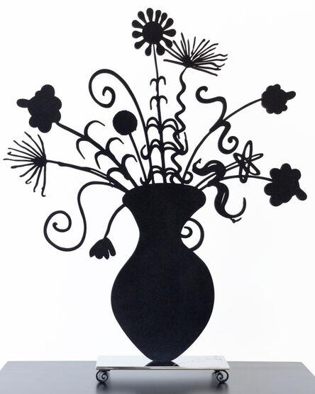 Kenny Scharf, 'Flores Black', 2020