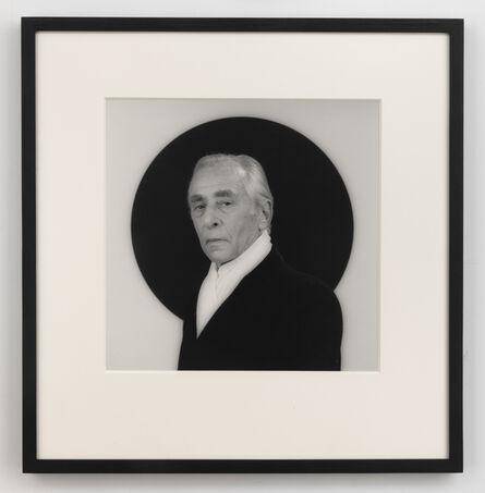 Robert Mapplethorpe, 'Leo Castelli', 1984
