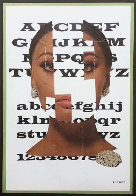 Eva Lake, 'Typeface, Latin Wide', 2016