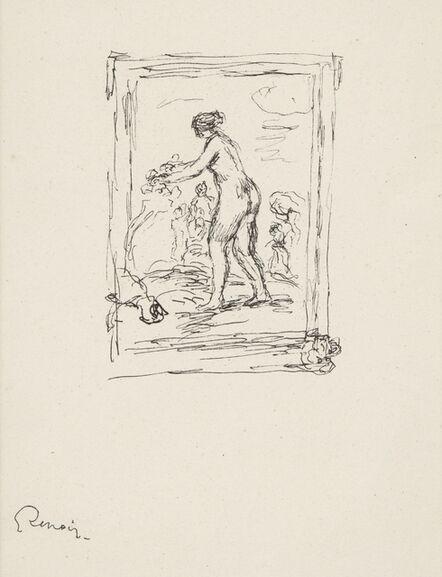 Pierre-Auguste Renoir, 'Femme au Cep de Vigne, 2eme Variante, from L'Album des Douze Lithographies Originales de Pierre-Auguste Renoir (Delteil 46)', 1904