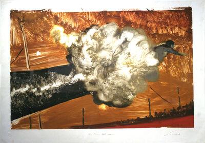 Julio Larraz, 'The Cannon Ball Man', 1989