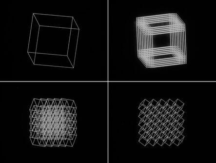 Manfred Mohr, 'Cubic Limit', 1973-1974