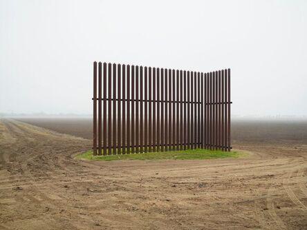 Richard Misrach, 'Wall, Near Los Indios, Texas/El muro, al este de Nogales, Arizona ', 2014